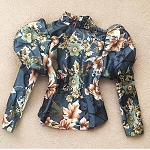 Fleurs in the Fall Blouse